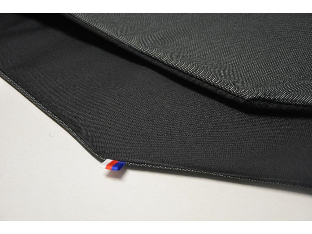 Cerino Chránič M - pro střední plemena 98 cm x 98 x 52 cm antracit a černá