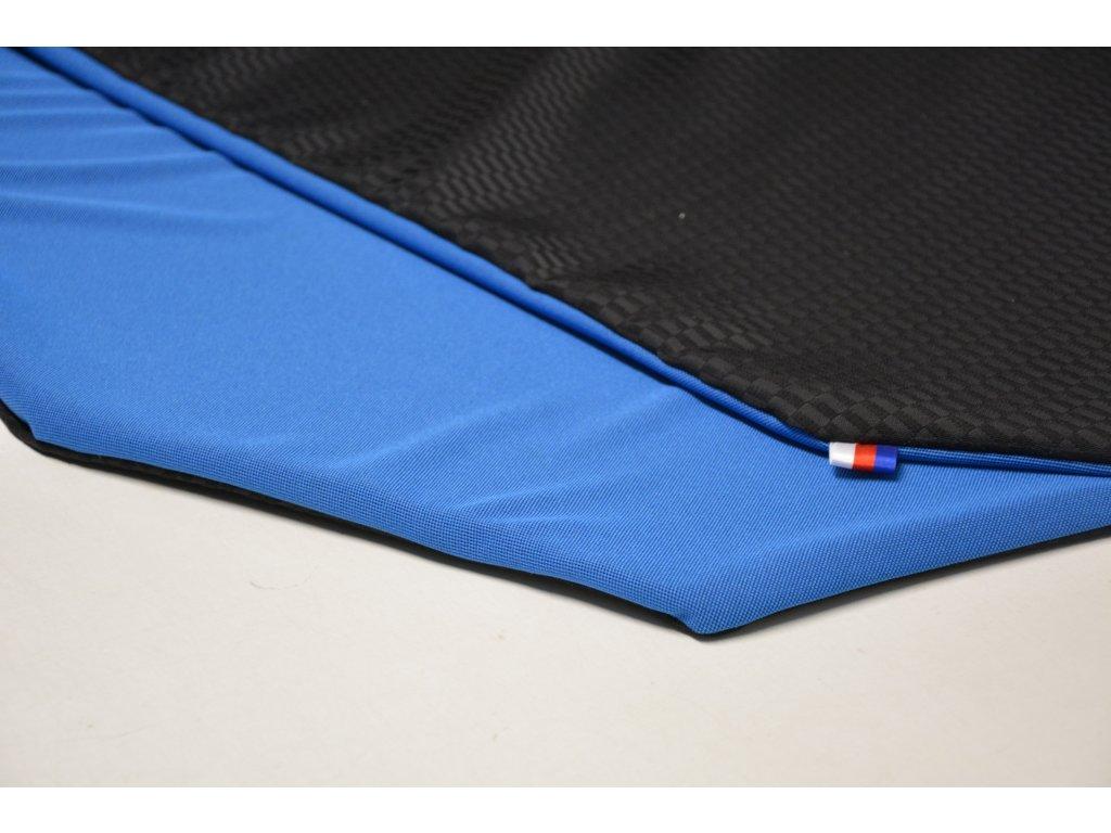 Cerino chránič L - pro velká a obří plemena 120 cm x 120 x 52 cm černá a modrá