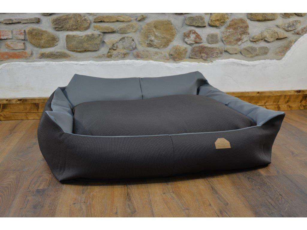 Cerino pelech Křeslo Imola M ORCA 125 x 115 x 15 cm - Textilní zátěžová látka - KRUPICE