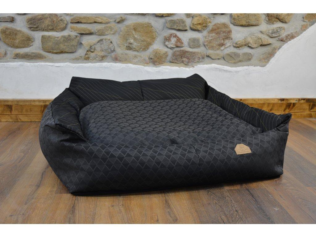 Cerino pelech Křeslo Imola M ORCA 125 x 115 x 15 cm - Textilní zátěžová látka - CELOŠEDÝ