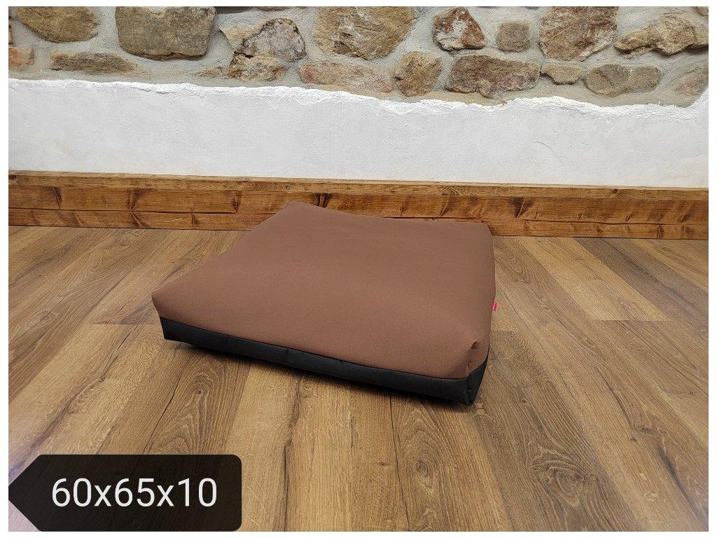 Cerino matrace textilní 140x90x15 cm - atyp. modrá vzor