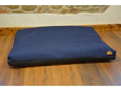 Cerino pelech Ortona 160x120x15 textilní černý pruh