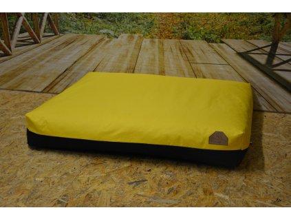 Cerino pelech Ortona 160x120x15, CODURA žlutá