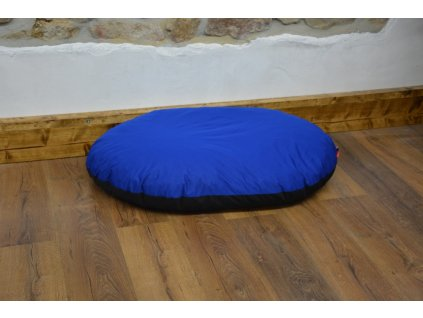 Cerino poduška pro psy a kocky 90 x 60 x 10 modrá