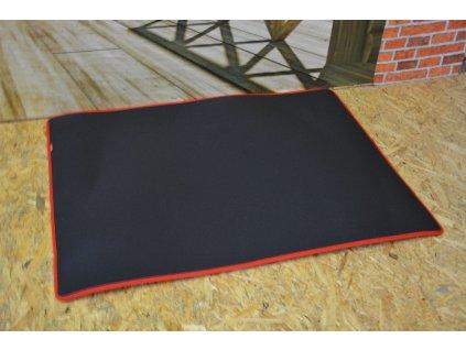 Cerino podložka 118x90cm červený lem
