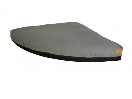 Cerino náhradní potah na pelech rohový M 120 x 120 šedý