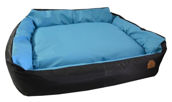 Křeslo Imola M ORCA - CODURA světle modrý 125x115x15cm