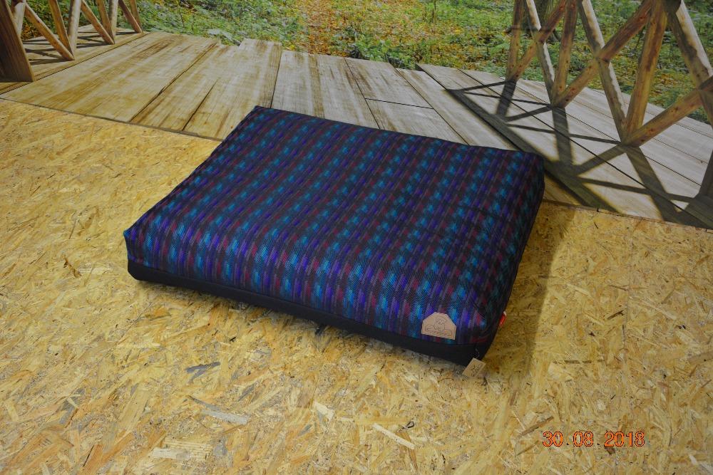 Cerino Pelech MODENA -  textilní modrá 100x85x15cm