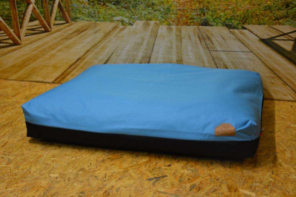 Cerino pelech Modena - světle modrá 100x85x15cm