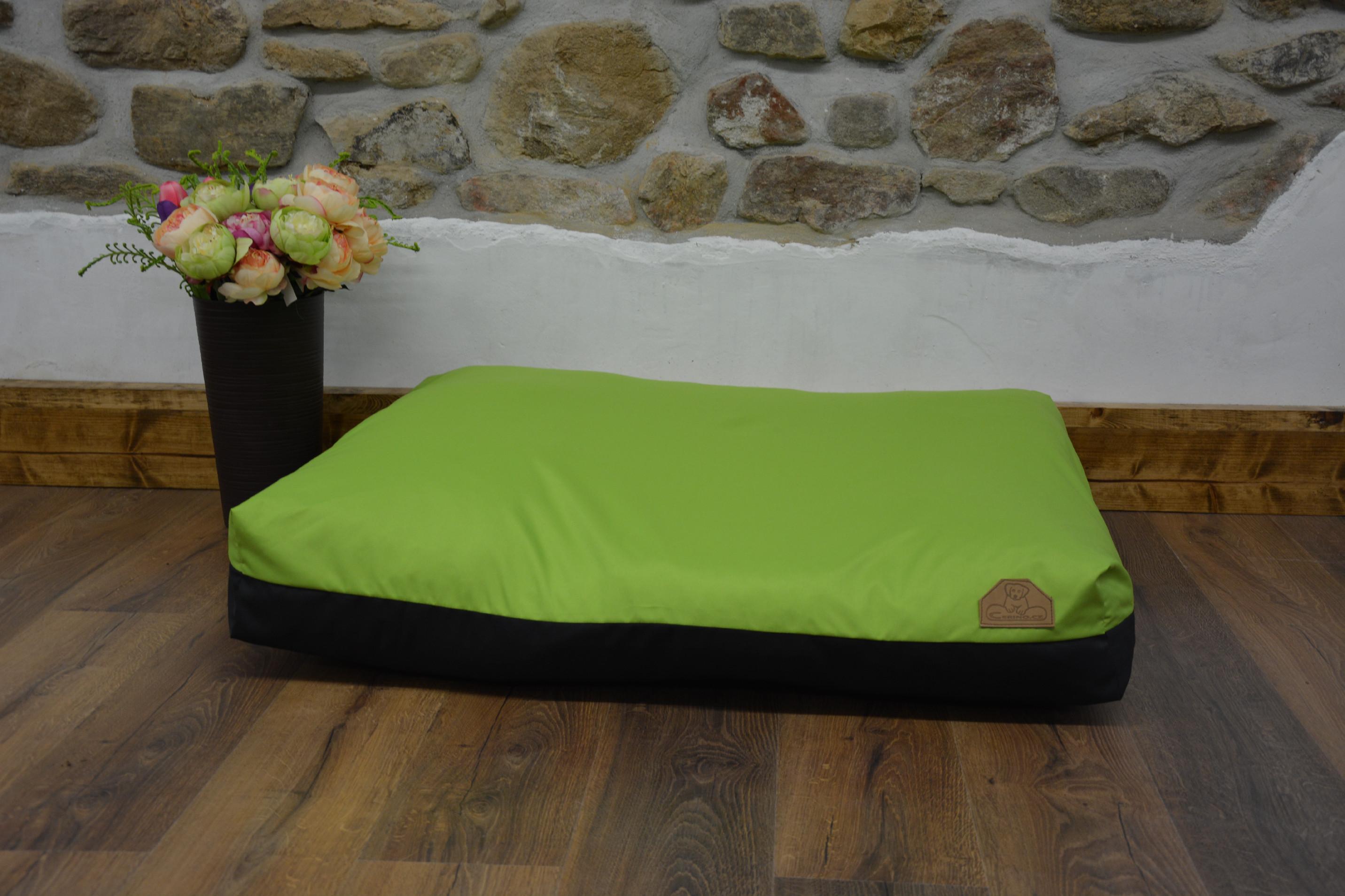 Cerino pelech Modena - limetkově zelená 100x85x15cm