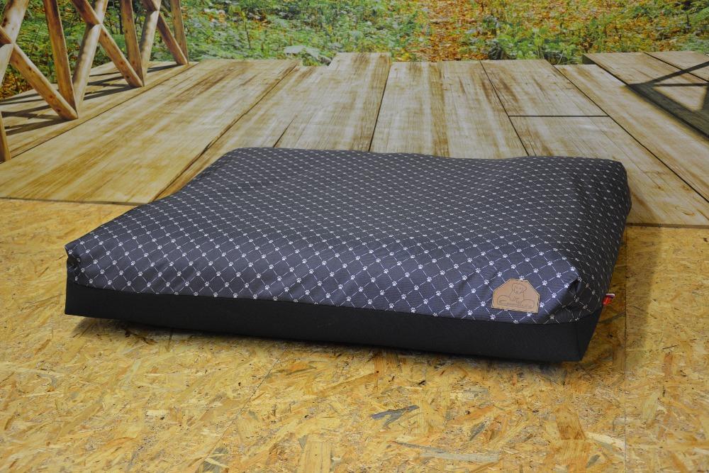 Cerino pelech Modena - kočičí tlapky,antracit šedá 100x85x15cm