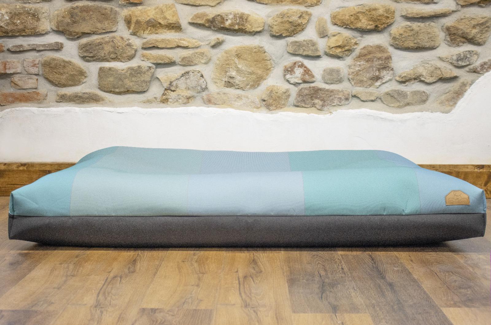 Cerino pelech Ortona - textilní potah kostkovaný 160x120x15cm