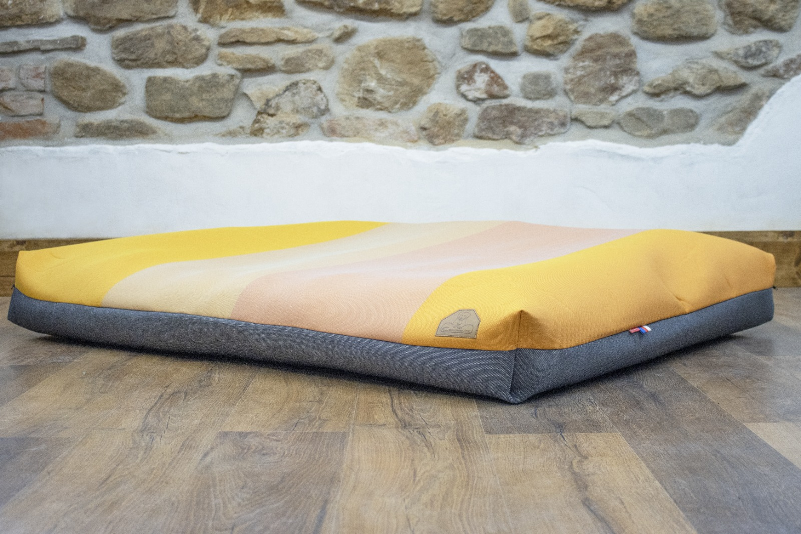 Cerino pelech Verona -  textilní potah fialový 140x100x15cm