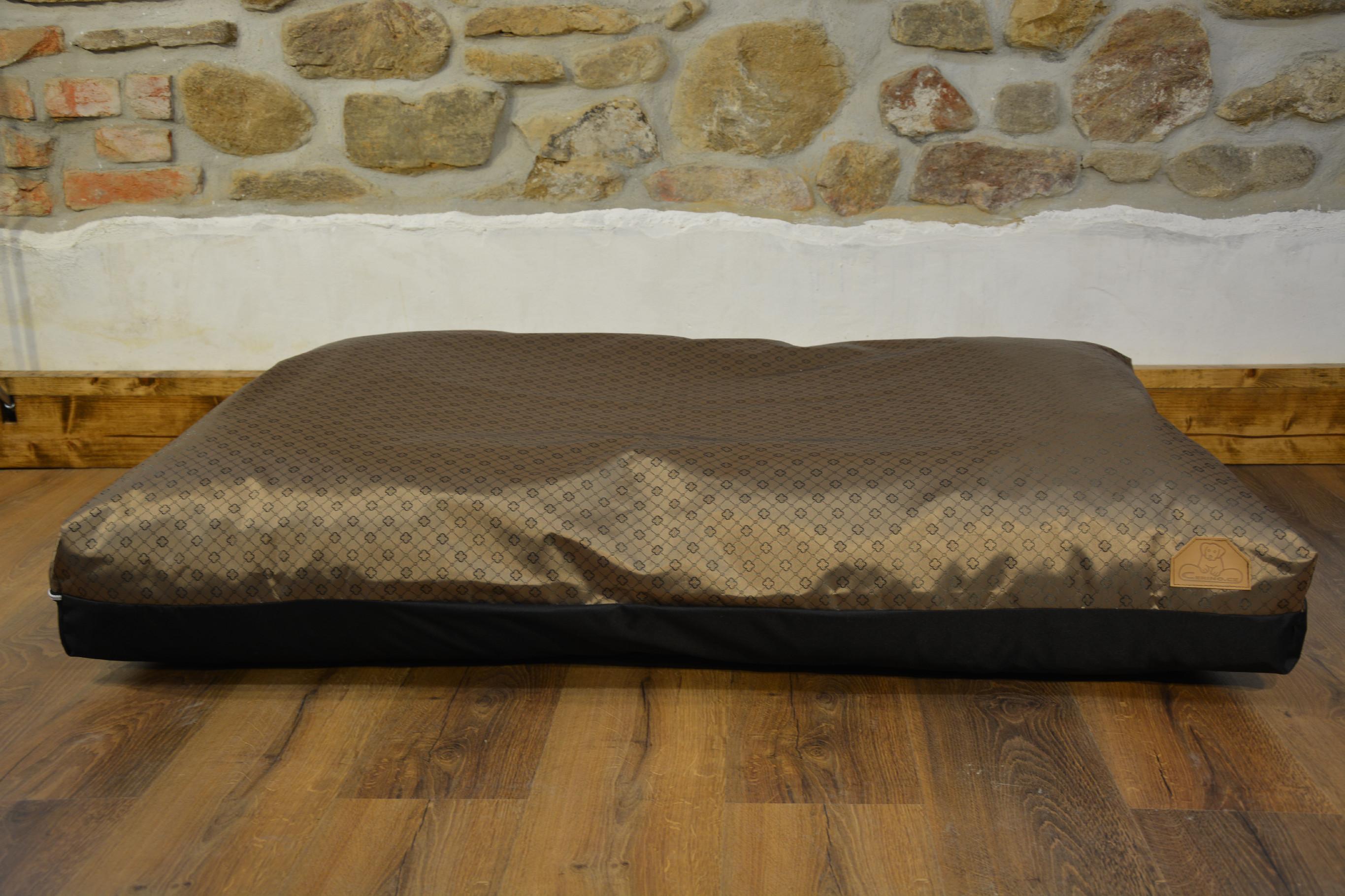 Cerino pelech Verona - CODURA tmavě hnědý 140x100x15cm