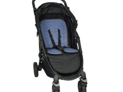 chladiaca podlozka bebefolie coolmat do sportoveho kocika blue denim 5