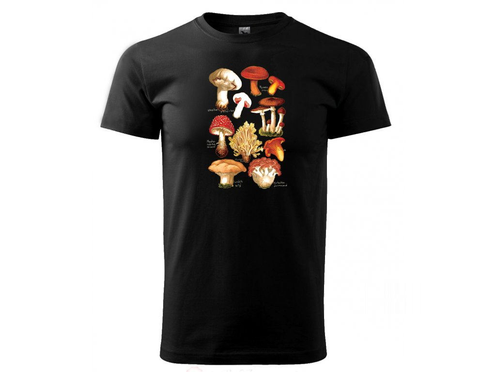 pánské tričko houby