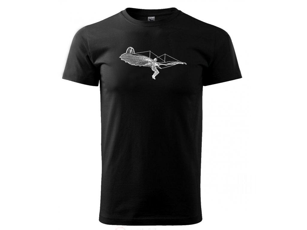 létací stroj pánské tričko