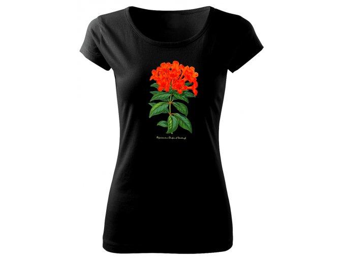 dámské triko rododendron