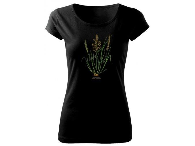 tráva 1 dámské triko s potiskem
