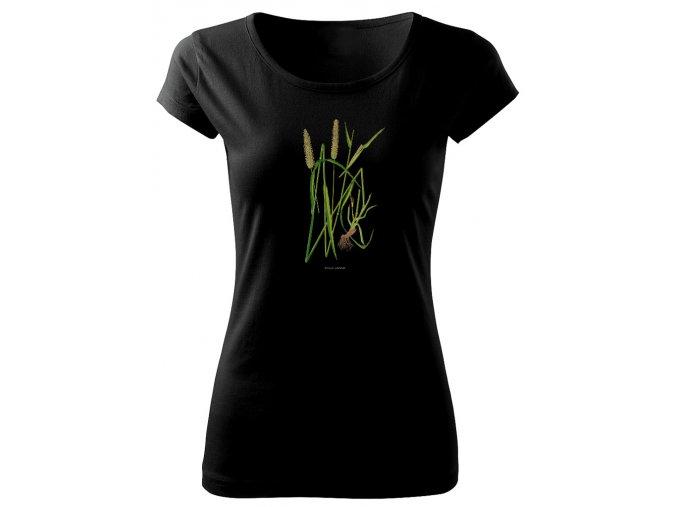 dámské tričko s potiskem tráva 1