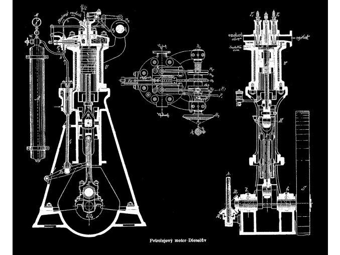 petrolejový motor