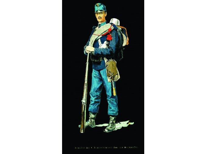 voják císaře Fr. Josefa I