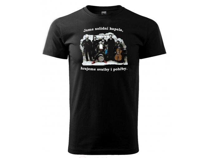 solidní kapela pánské tričko