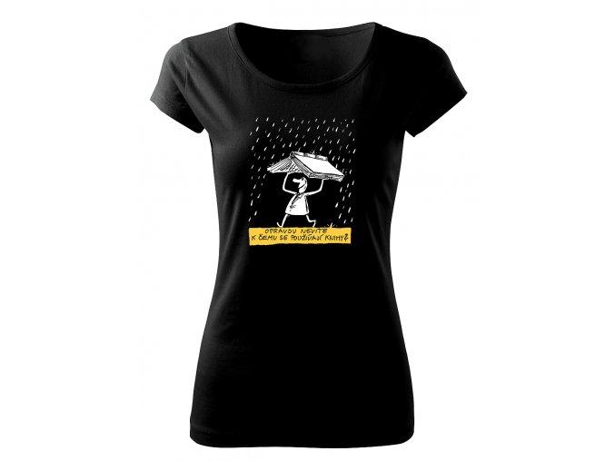 k čemu knihy dámské tričko