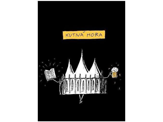 Kutná Hora - sv. Barbora (Pánské/Dámské Dámské černé, Velikost XXL)