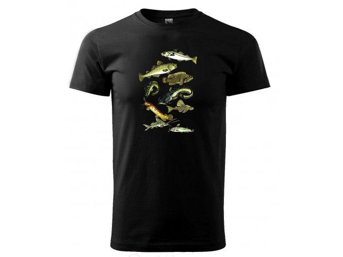 ryby 3 tričko