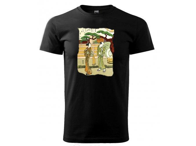 japonsko pánské tričko