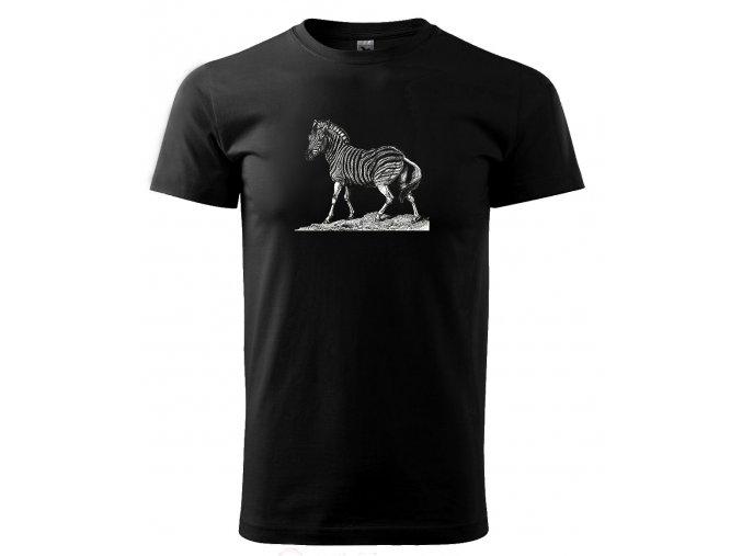 zebra tričko