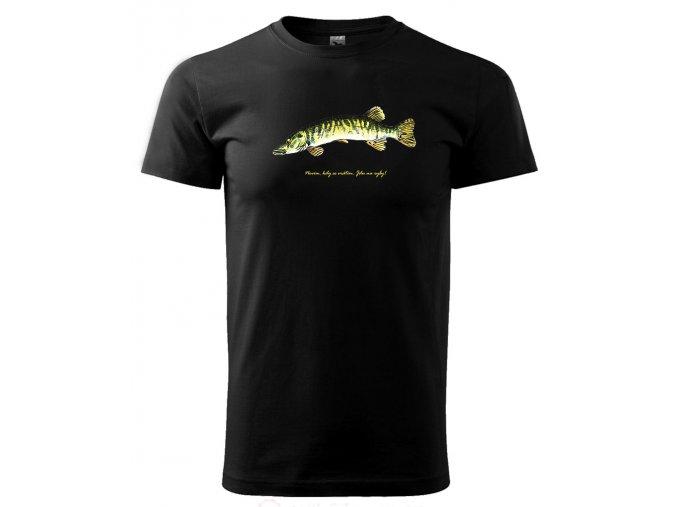 jdu na ryby rybarské tričko