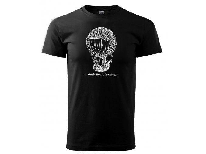 pánské tričko vzduchoplavba