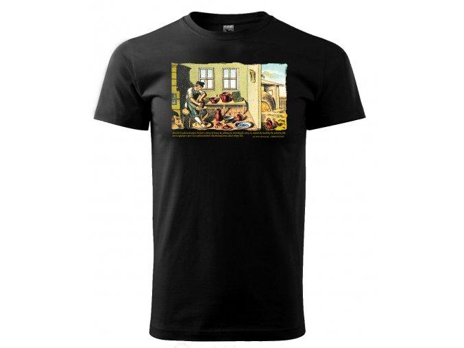 hrnčíř tričko pánské