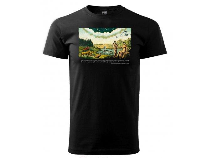 svět pánské tričko