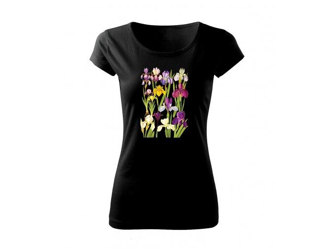 dámské tričko kosatce