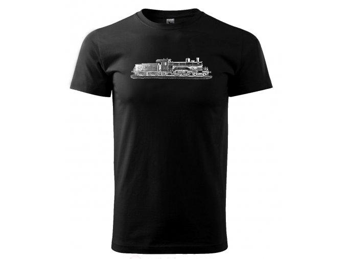 lokomotiva malá pánské tričko