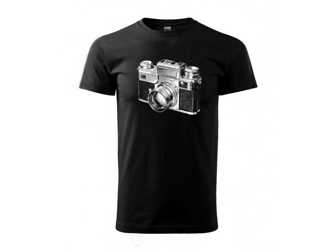 Pánské tričko fotograf contax