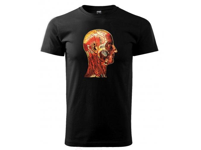 hlava pánské tričko