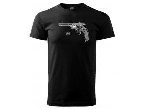 pistole Karel Krnek 1892 černé triko