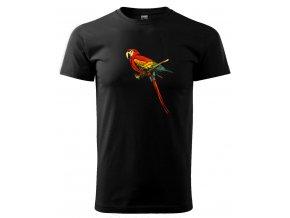 ara papoušek pánské triko