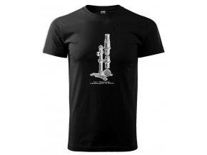 pánské tričko mikroskop