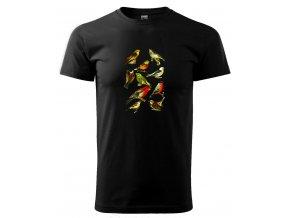 tričko naši ptáci pánské