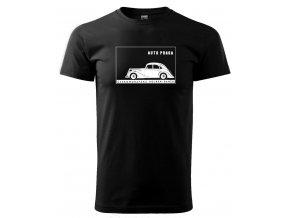 pánské tričko s potiskem auto Praga