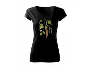 dámské tričko bříza