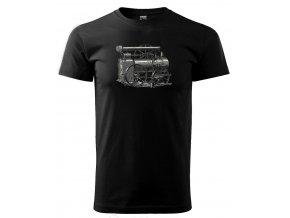 parní stroj pánské tričko