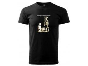 tričko s obrázkem psa