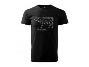 pánské tričko kráva