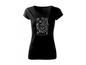 narcis dámské tričko